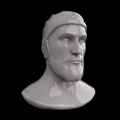 3D printer models head of big cyrus, saeedpeyda
