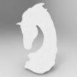wireframe3.jpg Download OBJ file horse art statue • 3D printable object, saeedpeyda