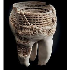 stl teeth art, saeedpeyda