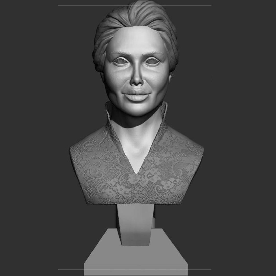 2.jpg Download STL file young woman • 3D print model, saeedpeyda