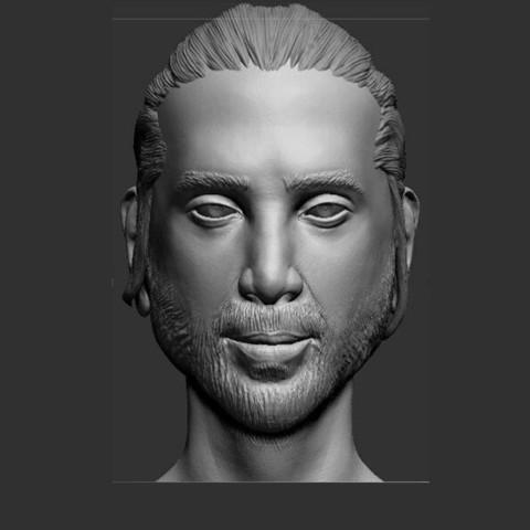 2.jpg Download STL file young man 3 • 3D printable template, saeedpeyda