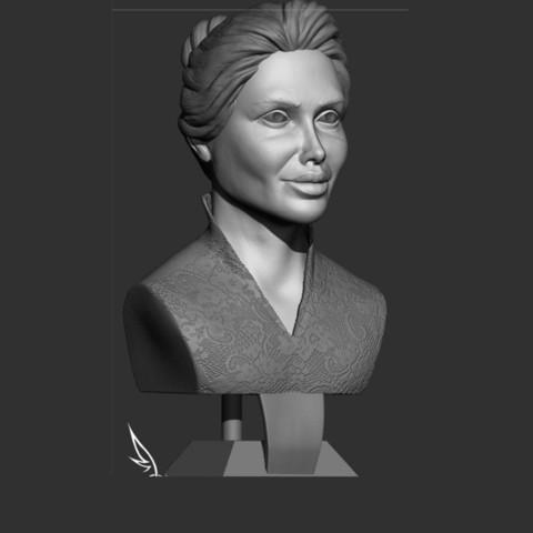 1.jpg Download STL file young woman • 3D print model, saeedpeyda