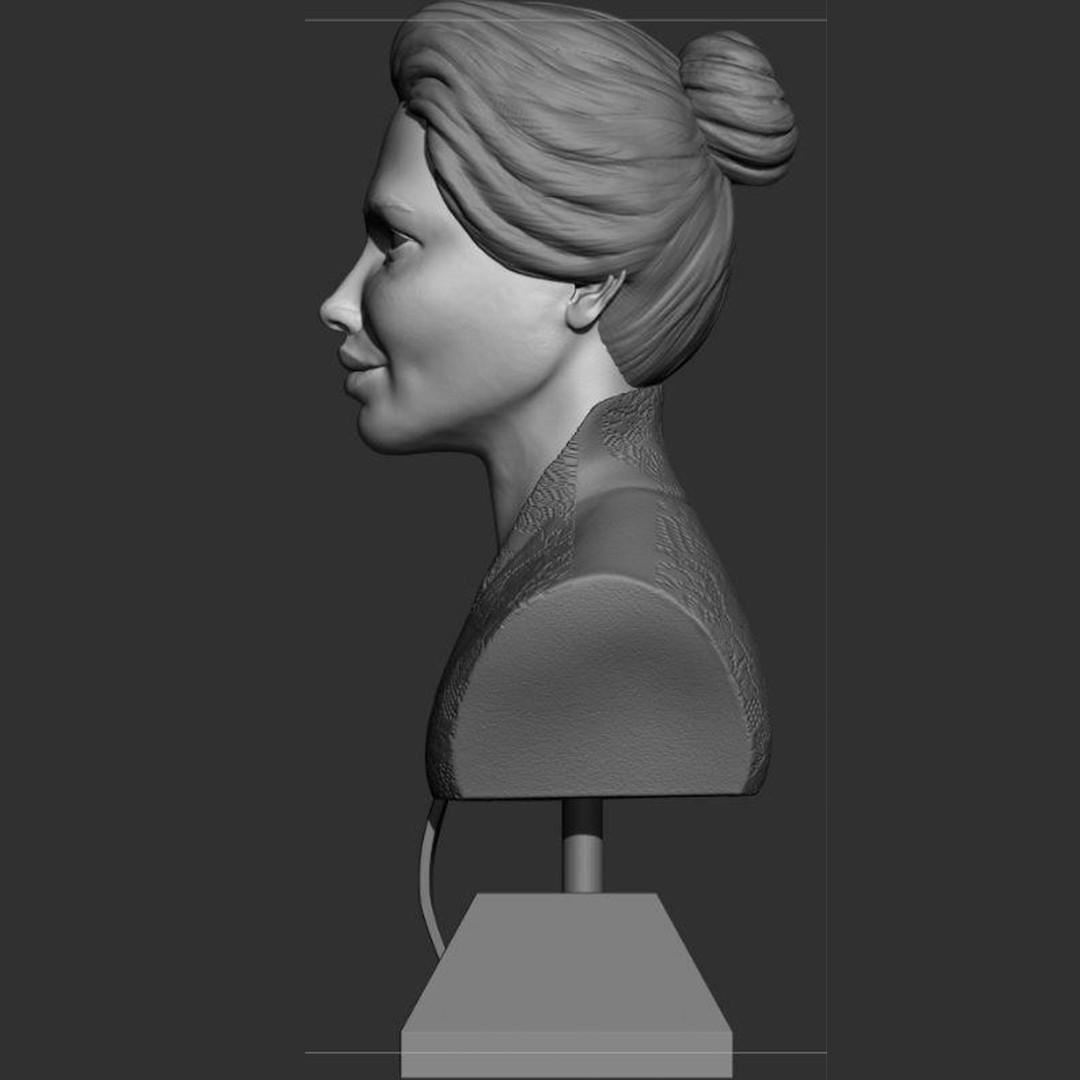3.jpg Download STL file young woman • 3D print model, saeedpeyda