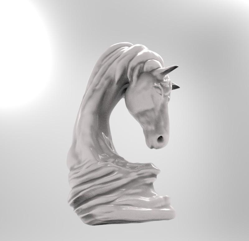 asb marpich 6.jpg Download OBJ file horse art statue • 3D printable object, saeedpeyda