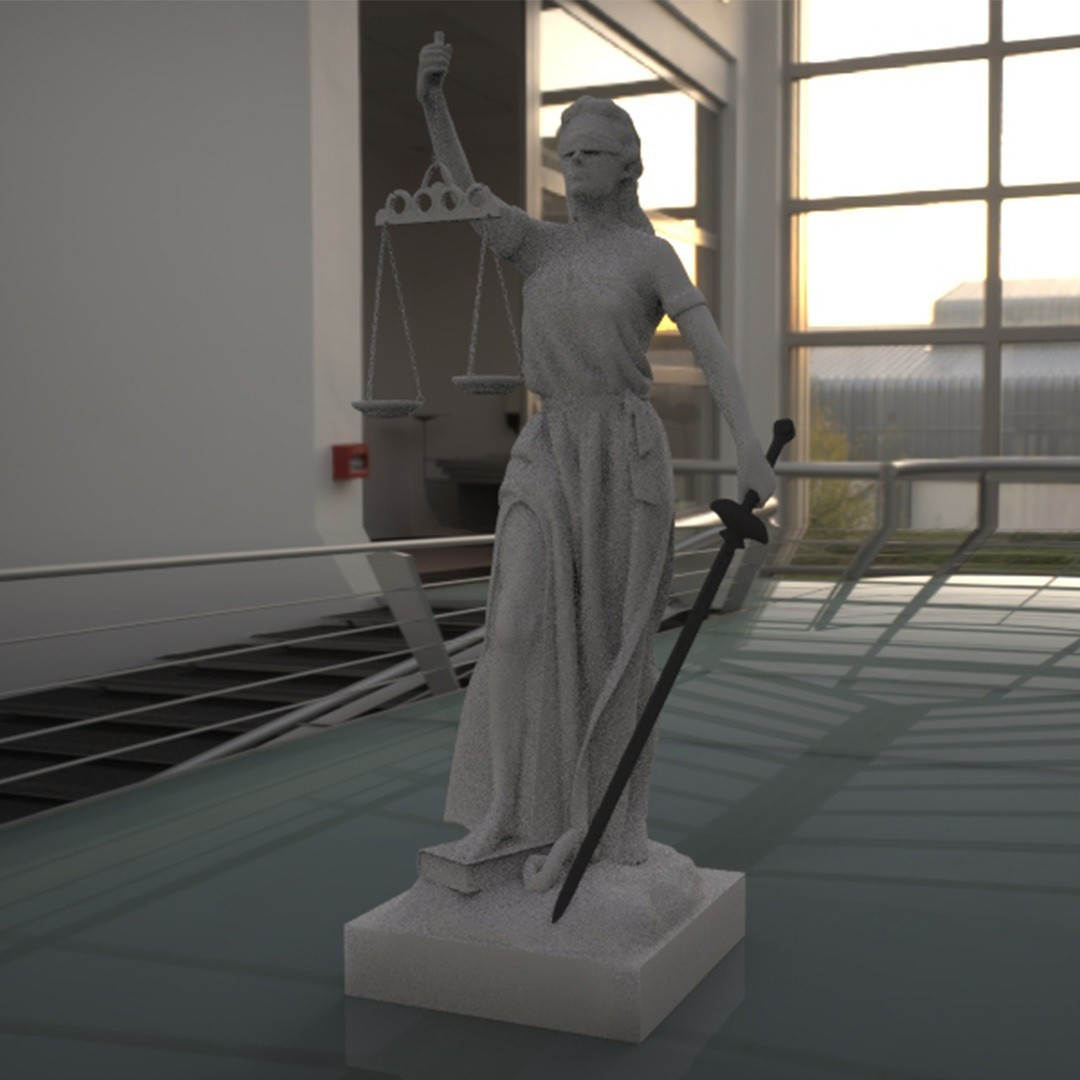 1.jpg Download STL file justice woman • 3D printing object, saeedpeyda