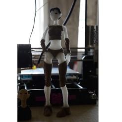 Fichier STL gratuit Femme robot - Robotica, SecondShadow