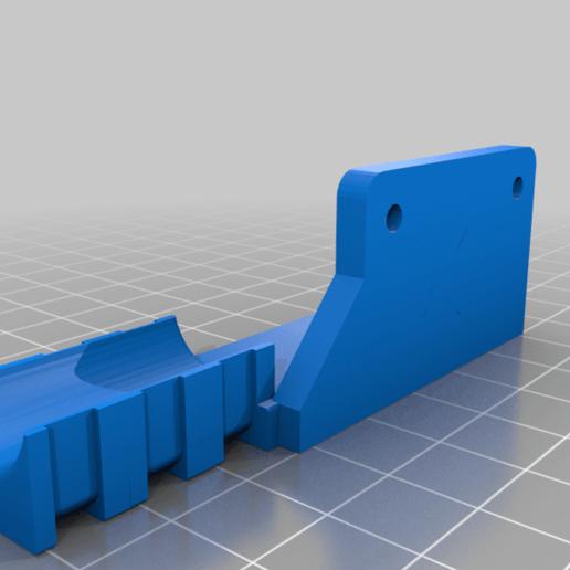 Fix_cable_clamp_Motor_X.png Télécharger fichier STL gratuit Porte-câble avec pince • Modèle pour impression 3D, rovanni