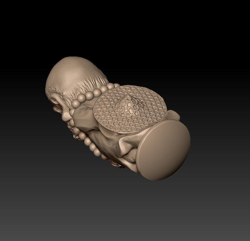 Bodhidharma4.jpg Download free STL file Bodhidharma  • Object to 3D print, stlfilesfree