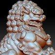 guardianLion3d5.jpg Télécharger fichier OBJ gratuit modèle 3d de lion ou de foo de gardien de chien • Modèle imprimable en 3D, stlfilesfree