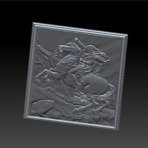 Napoleon9.jpg Télécharger fichier STL gratuit Napoléon • Modèle à imprimer en 3D, stlfilesfree