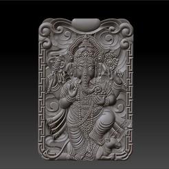 Ganesha_elephant_god_W1.jpg Télécharger fichier STL gratuit Ganesha • Design à imprimer en 3D, stlfilesfree