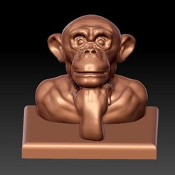 thinkingOrangutan1.jpg Download free STL file Along the River During the Qingming Festival • Model to 3D print, stlfilesfree