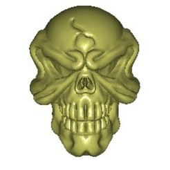 xa1002.jpg Télécharger fichier STL gratuit SKULL 3D MODEL • Modèle à imprimer en 3D, stlfilesfree