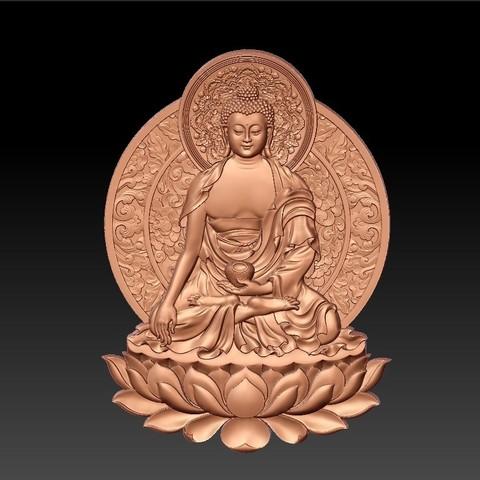 ThailandBuddhaWW1.jpg Télécharger fichier STL gratuit Bouddha de Thaïlande • Modèle à imprimer en 3D, stlfilesfree