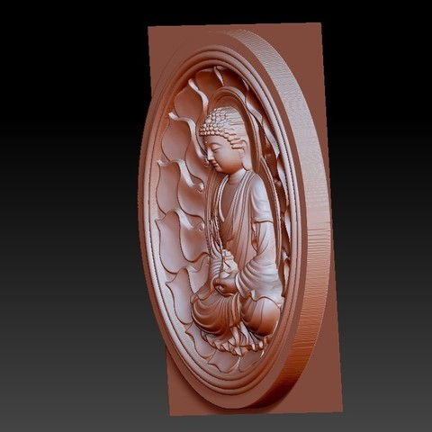 buddhaZX3.jpg Download free OBJ file budhha • 3D print model, stlfilesfree