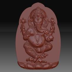 ElephantGod1.jpg Download free OBJ file ganesha elephant god • Template to 3D print, stlfilesfree