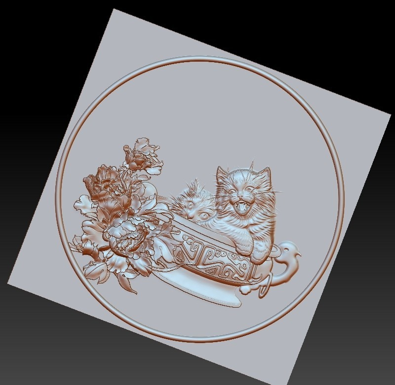 CATS3.jpg Télécharger fichier STL gratuit chats • Modèle à imprimer en 3D, stlfilesfree