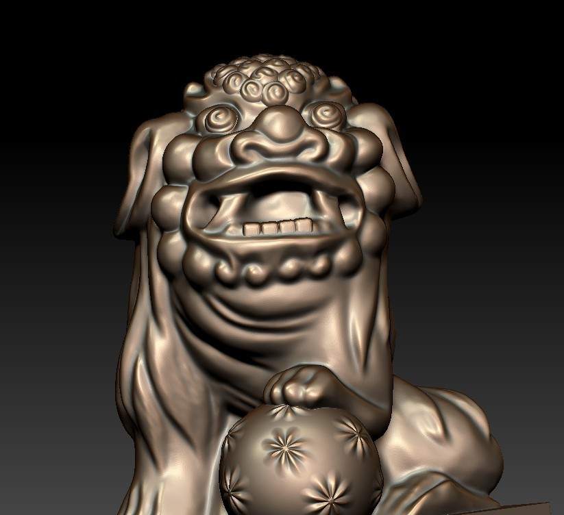 FooDogsDDD5.jpg Download free STL file guardian lions or Foo Dogs • Template to 3D print, stlfilesfree