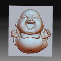 happyBuddhaB1.jpg Download free STL file happy little buddha • 3D print model, stlfilesfree