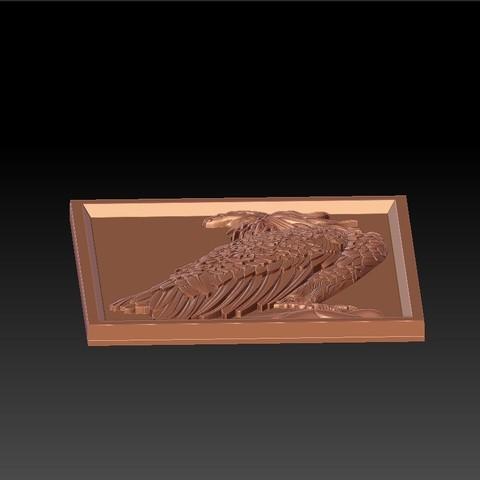 eagle4.jpg Download free STL file eagle  • 3D printing model, stlfilesfree