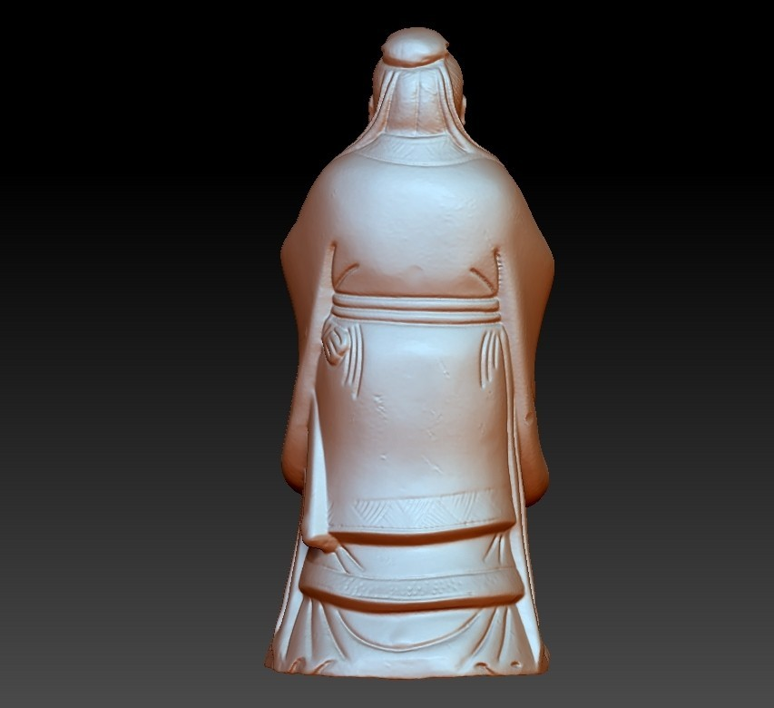 ConfuciusSmall3.jpg Download free OBJ file Confucius statue • 3D printing object, stlfilesfree