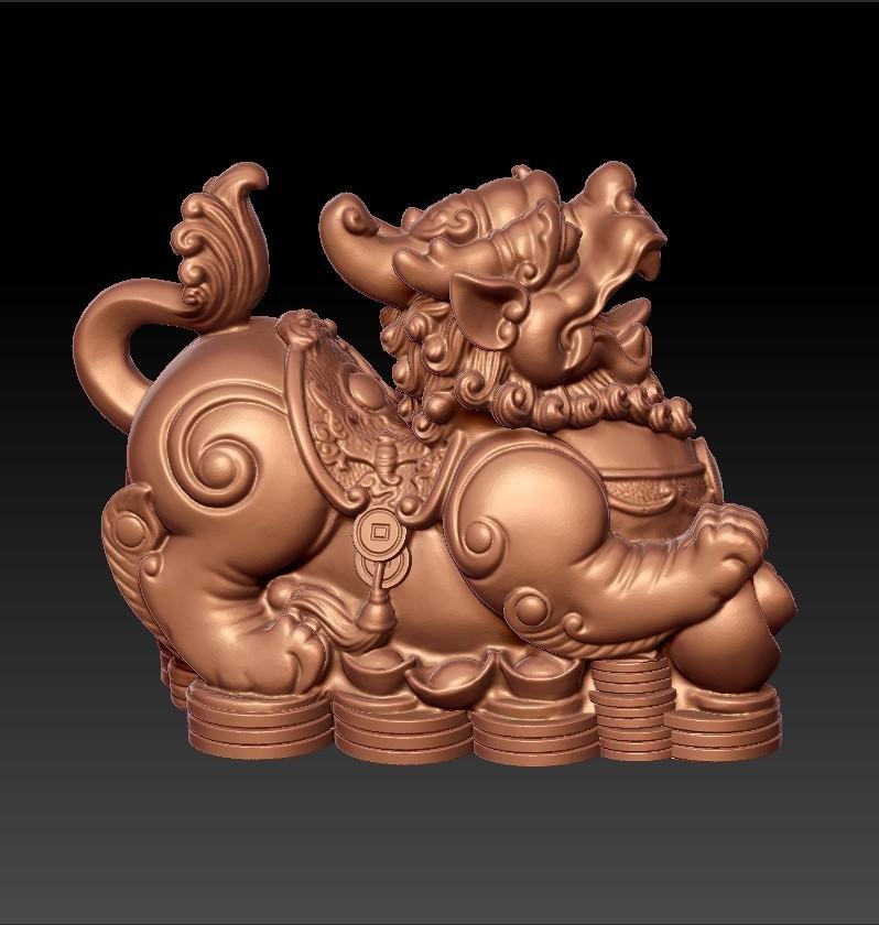 MythicalWildAnimal.jpg Télécharger fichier STL gratuit Animal sauvage mythique • Design pour impression 3D, stlfilesfree