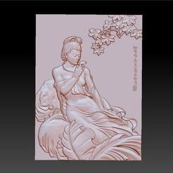 ChineseClassicalBeauty.jpg Télécharger fichier STL gratuit Beauté classique chinoise • Plan pour imprimante 3D, stlfilesfree