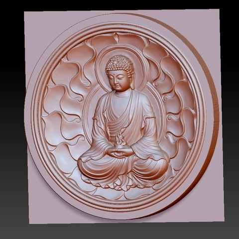 buddhaZX2.jpg Download free OBJ file budhha • 3D print model, stlfilesfree