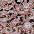 NineDragons5.jpg Télécharger fichier STL gratuit neuf dragons • Objet pour impression 3D, stlfilesfree