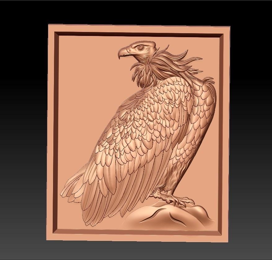 eagle1.jpg Download free STL file eagle  • 3D printing model, stlfilesfree