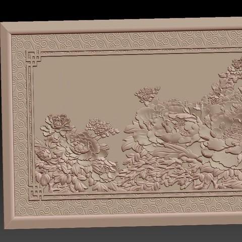 Peony_flowers2.jpg Download free STL file Peony flowers • 3D print design, stlfilesfree