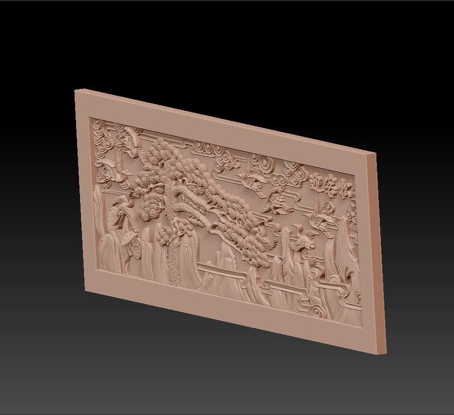 Guest-Greeting_Pine3.jpg Download free STL file Guest-Greeting Pine • Template to 3D print, stlfilesfree