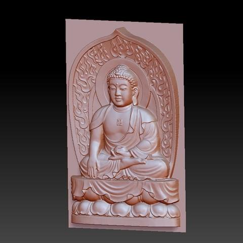 buddhaRRRRRT2.jpg Download free STL file buddha • 3D printer object, stlfilesfree