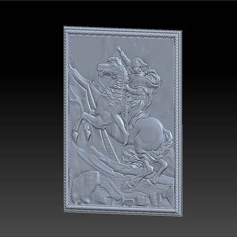 Napoleon5.jpg Télécharger fichier STL gratuit Napoléon • Modèle à imprimer en 3D, stlfilesfree