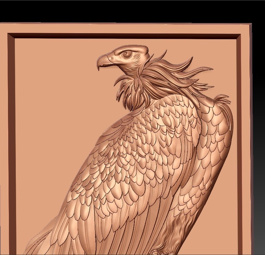 eagle6.jpg Download free STL file eagle  • 3D printing model, stlfilesfree