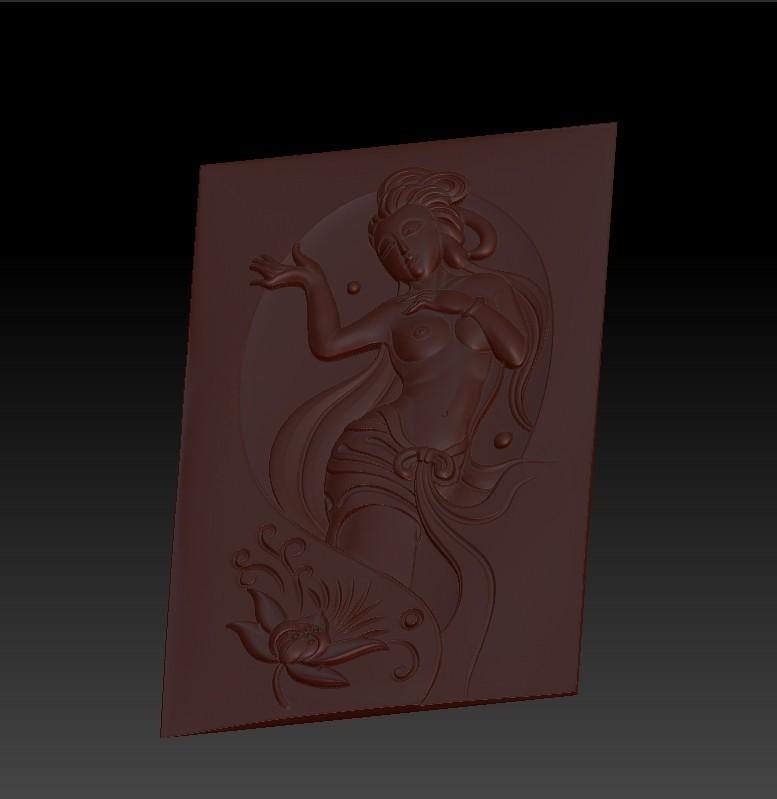 classicalwoman5.jpg Télécharger fichier OBJ gratuit classique et belle femme 3d modèle de bas-relief pour cnc • Modèle pour imprimante 3D, stlfilesfree