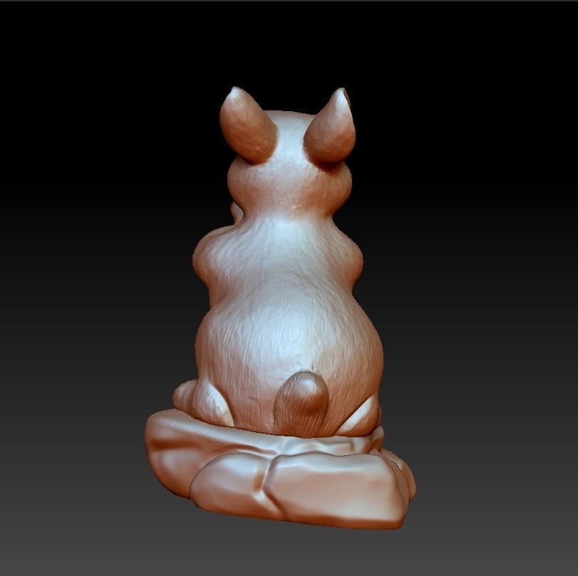 rabbit4.jpg Download free STL file rabbit 3d model • 3D printing template, stlfilesfree