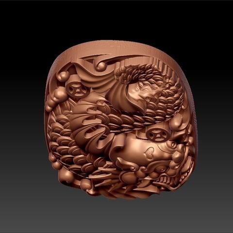 dragon_fish8.jpg Télécharger fichier STL gratuit créature de poisson dragon • Modèle pour imprimante 3D, stlfilesfree