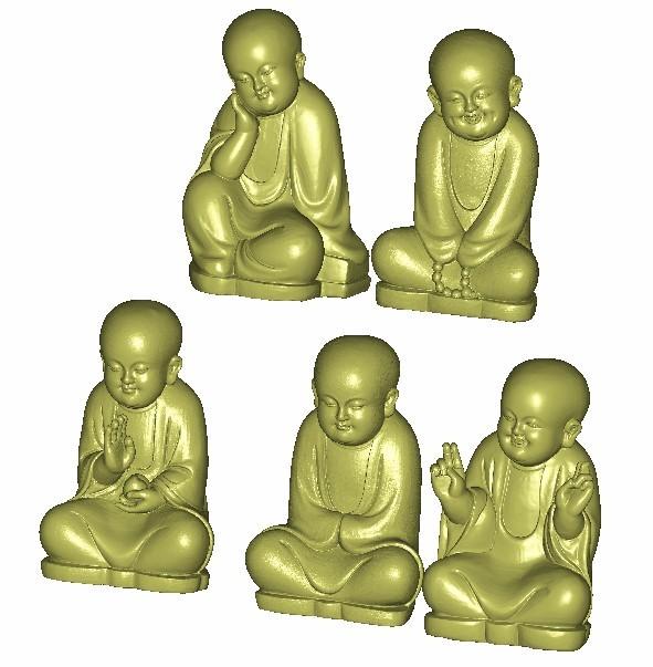 little monk3.jpg Download free STL file little monk  • 3D print object, stlfilesfree