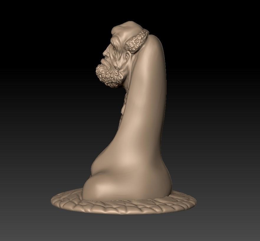 BodhidharmaB2.jpg Download free STL file Bodhidharma • 3D printing design, stlfilesfree