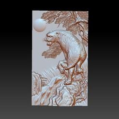 Tiger1.jpg Télécharger fichier STL gratuit tigre • Plan à imprimer en 3D, stlfilesfree