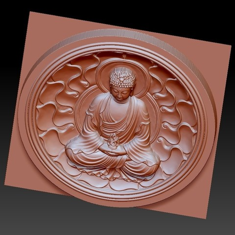 buddhaZX4.jpg Download free OBJ file budhha • 3D print model, stlfilesfree
