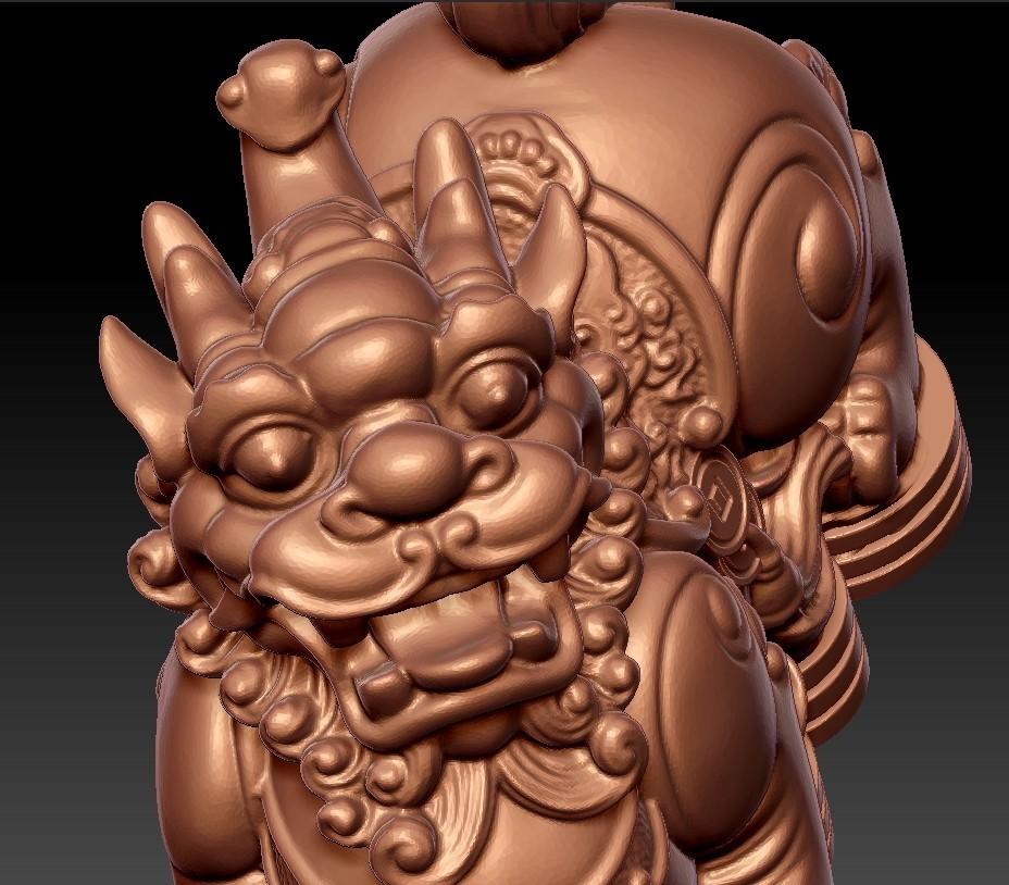 MythicalWildAnimal7.jpg Télécharger fichier STL gratuit Animal sauvage mythique • Design pour impression 3D, stlfilesfree