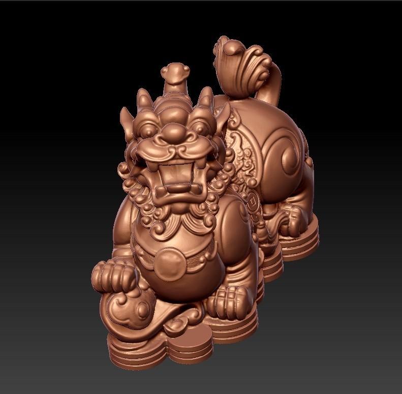 MythicalWildAnimal2.jpg Télécharger fichier STL gratuit Animal sauvage mythique • Design pour impression 3D, stlfilesfree