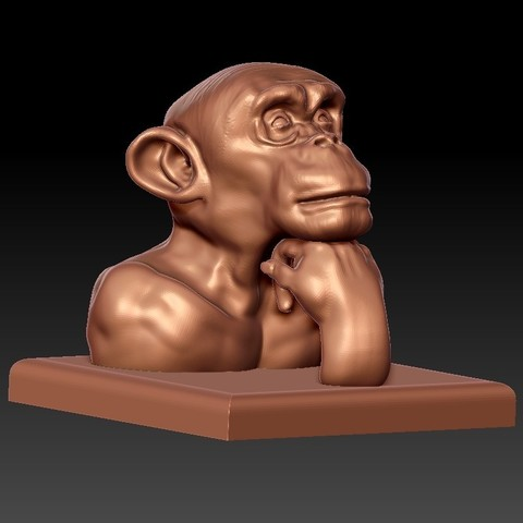 thinkingOrangutan6.jpg Download free STL file Along the River During the Qingming Festival • Model to 3D print, stlfilesfree