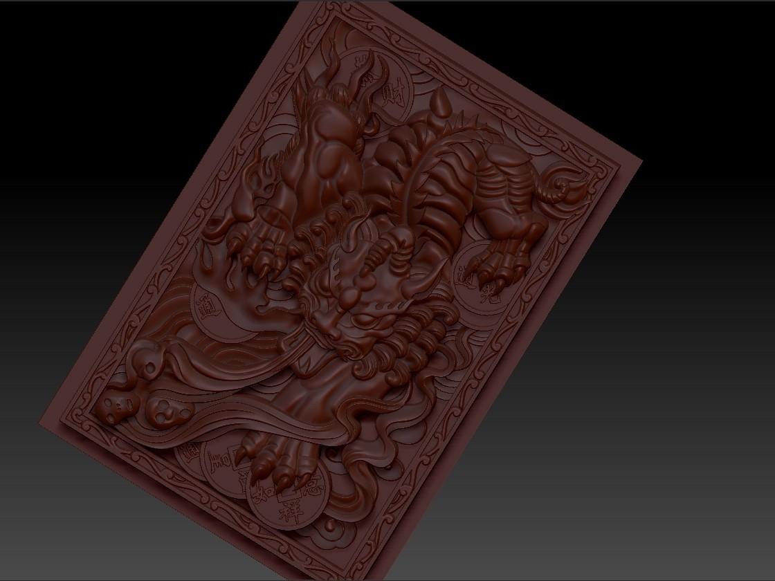 pixiu5.jpg Télécharger fichier STL gratuit Mythique Animal Sauvage Pixiu • Modèle à imprimer en 3D, stlfilesfree