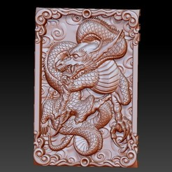 DragonZ1.jpg Télécharger fichier OBJ gratuit dragon 3d modèle de relief pour cnc ou impression 3d • Objet pour impression 3D, stlfilesfree
