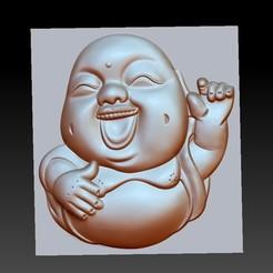 happyBuddha1.jpg Download free OBJ file happy little buddha • 3D print model, stlfilesfree