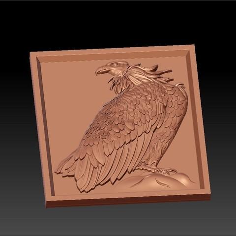 eagle3.jpg Download free STL file eagle  • 3D printing model, stlfilesfree