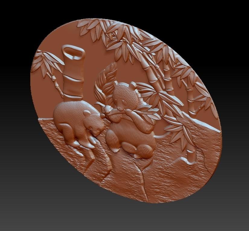 panda3.jpg Download free STL file panda • 3D printer object, stlfilesfree